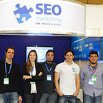 Equipe da SEO Marketing no eShow 2013.
