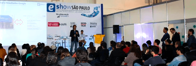 eShow Brasil 2015 - Clinic Search by SEO Marketing