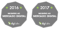 Selos da SEO Marketing como Mantenedor Digitalks 2016 e 2017