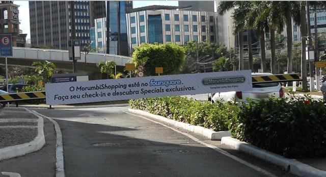 campanha morumbi shopping foursquare