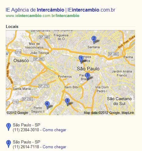Extensões de Anúncios: Extensão de Local