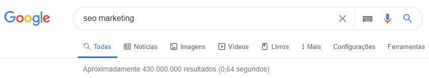índice do google